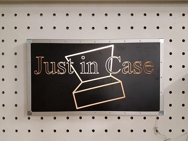 CNC Freeswerk bij Just in Case