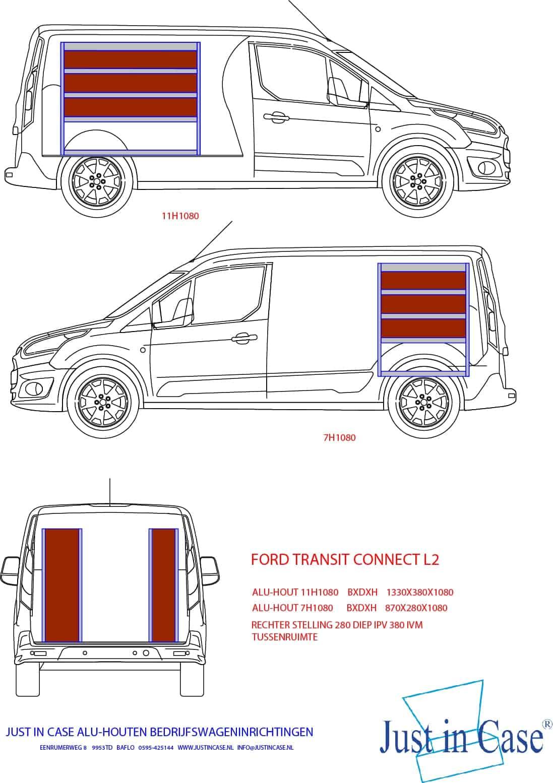 Ford Transit Connect bedrijfsbus