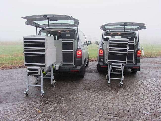 Dynnox Ambulance-brancardsysteem voor werkplek