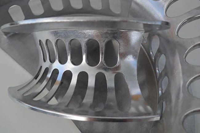 Aluminium kabel- of slanghouder